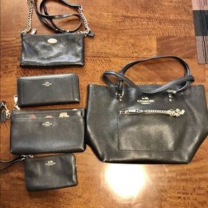 Coach Purse collection like new 3 pic unused